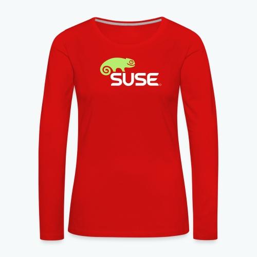 suse logo rgb - Frauen Premium Langarmshirt