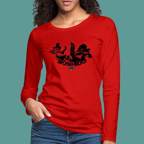 Mutagene Bushido - T-shirt manches longues Premium Femme