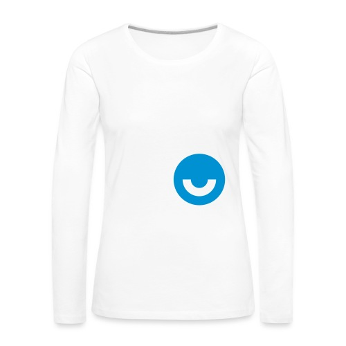 upday Icon blau - Women's Premium Longsleeve Shirt