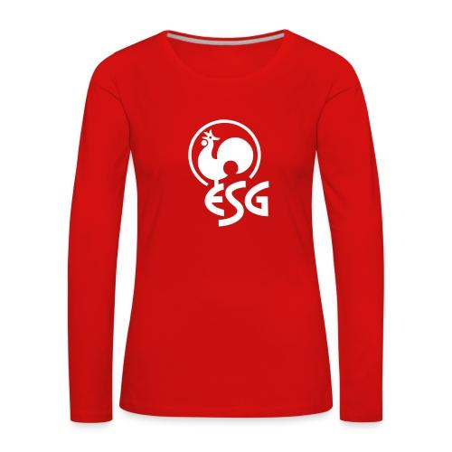 esg hahn - Frauen Premium Langarmshirt