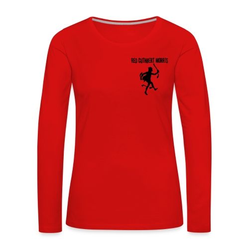 Red Cuthbert Logo design - Women's Premium Longsleeve Shirt