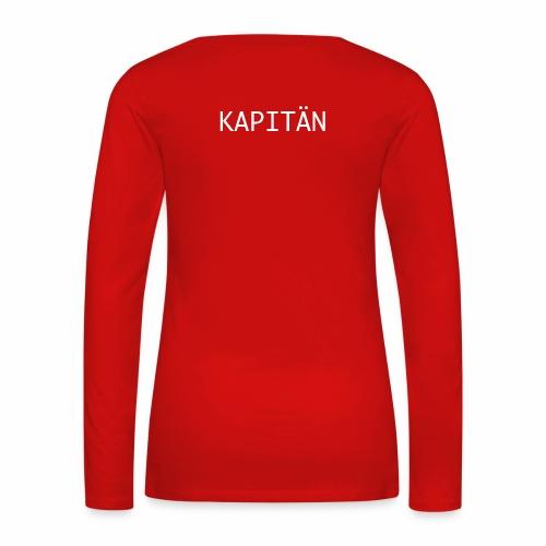 Kapitän Shirt - Frauen Premium Langarmshirt