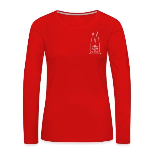 ladies circle logo 04 - Frauen Premium Langarmshirt