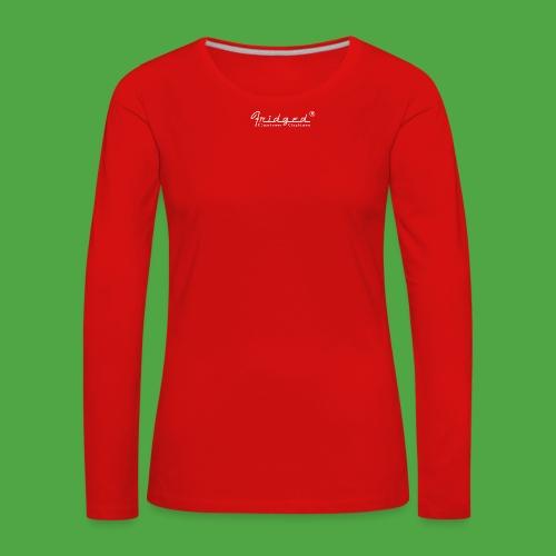 loggan2 copy - Långärmad premium-T-shirt dam