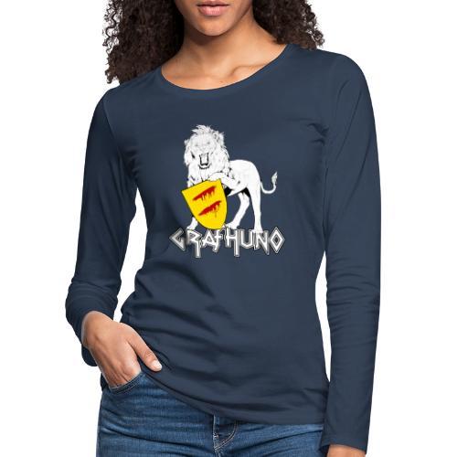 Ostfriesland Häuptlinge Graf Huno von Rastede - Frauen Premium Langarmshirt