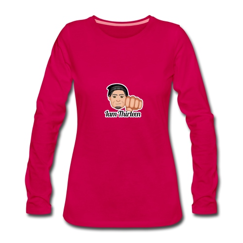 IAM THIRTEEN - Women's Premium Longsleeve Shirt