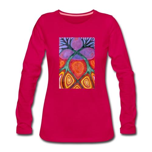 Do Siebie - Koszulka damska Premium z długim rękawem