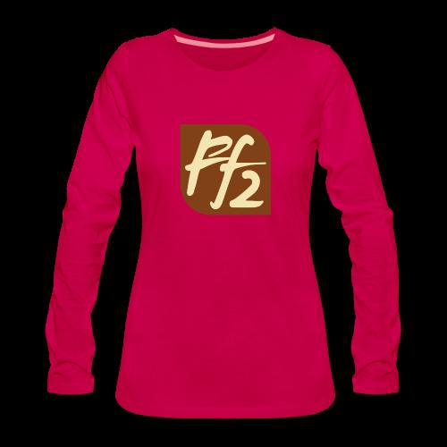 FF2 - Naisten premium pitkähihainen t-paita