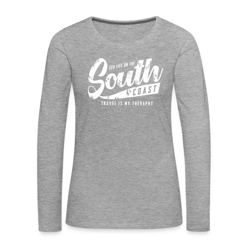 South Coast Sea surf clothes and gifts GP1305A - Naisten premium pitkähihainen t-paita
