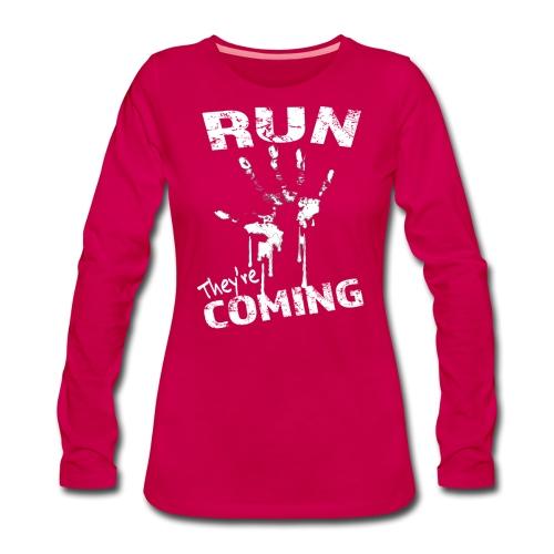 run_theyrecoming - Women's Premium Longsleeve Shirt