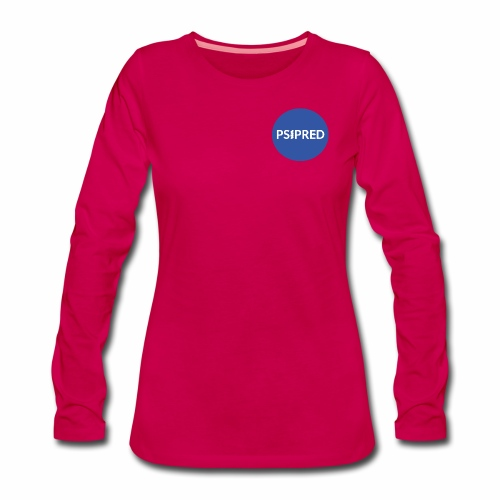 PSIPRED logo blue field - Women's Premium Longsleeve Shirt
