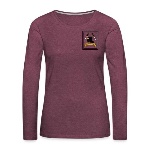 Promaja Ninja - Frauen Premium Langarmshirt