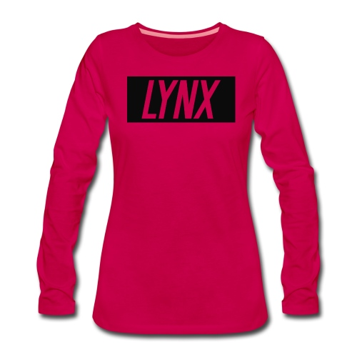 LynxShirtLogo - Women's Premium Longsleeve Shirt