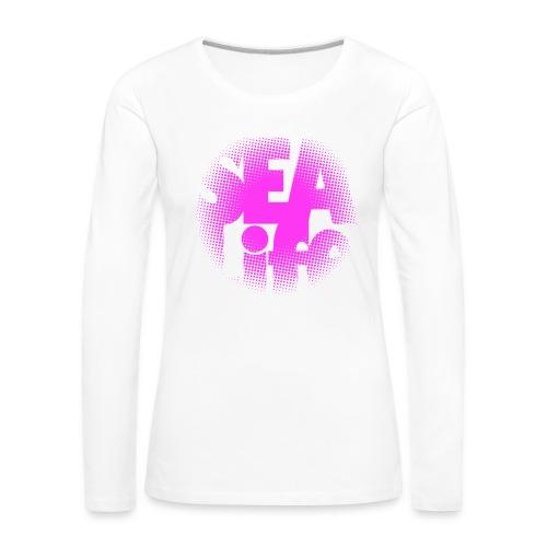 Sealife surfing tees, clothes and gifts FP24R01B - Naisten premium pitkähihainen t-paita