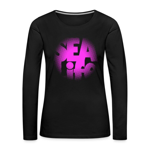 Sealife surfing tees, clothes and gifts FP24R01B - Naisten premium pitkähihainen t-paita