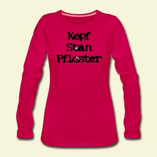 KSP Schrift - Frauen Premium Langarmshirt