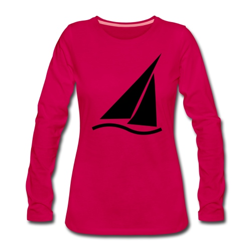 Regatta (kleines Symbol) - Frauen Premium Langarmshirt