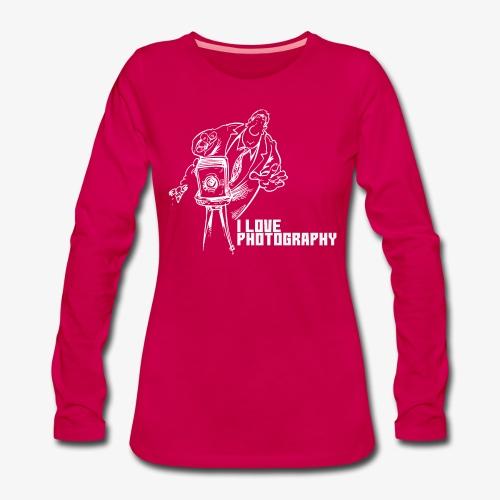Photography 008 - Camiseta de manga larga premium mujer