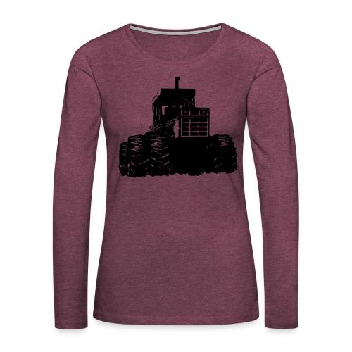 IH 4WD Tractor - Women's Premium Longsleeve Shirt