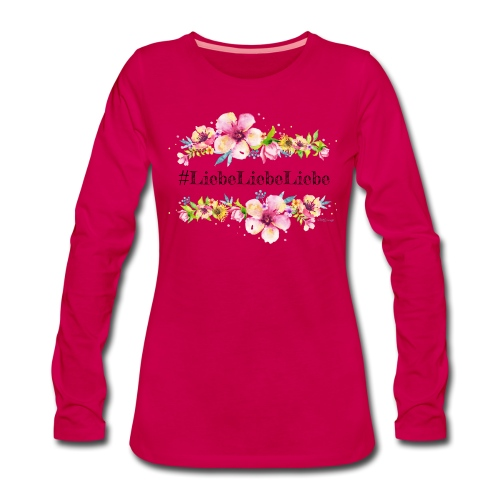 liebeliebeliebe - Frauen Premium Langarmshirt