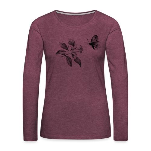 Botanical - Frauen Premium Langarmshirt