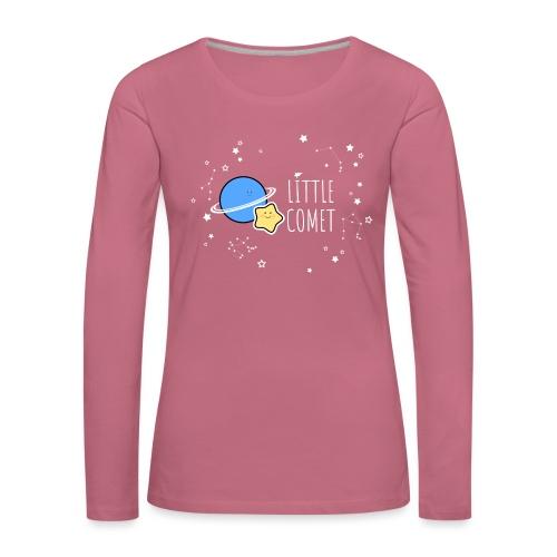 Little Comet - Naisten premium pitkähihainen t-paita