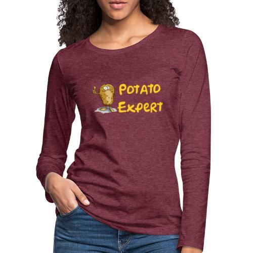 SMT potato expert - Maglietta Premium a manica lunga da donna