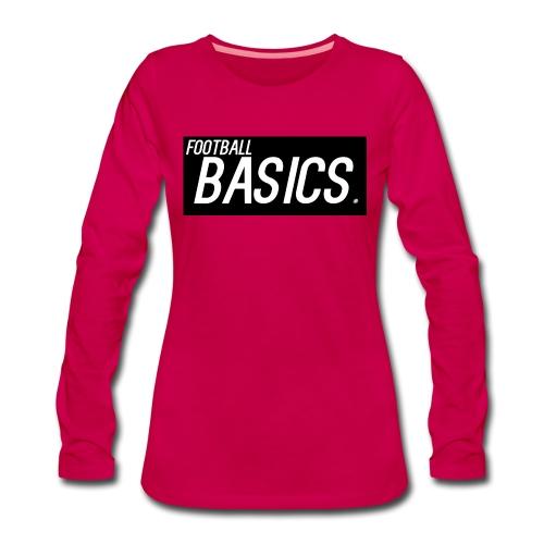 BLACK_AND_WHITE - Women's Premium Longsleeve Shirt