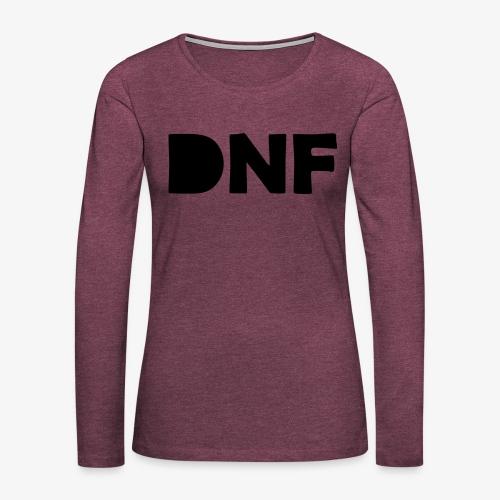 dnf - Frauen Premium Langarmshirt
