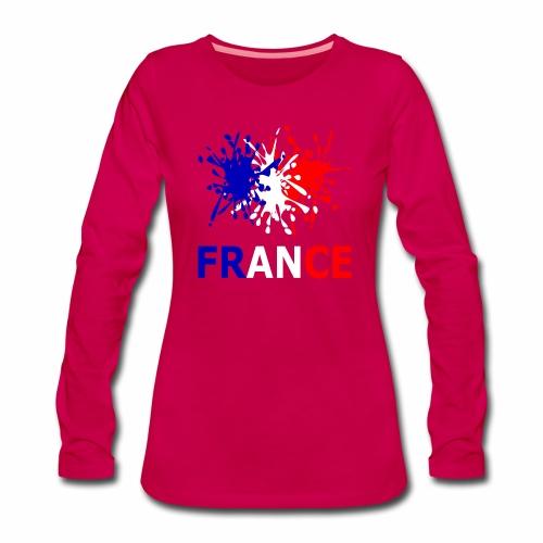 France - red white blue - Women's Premium Longsleeve Shirt