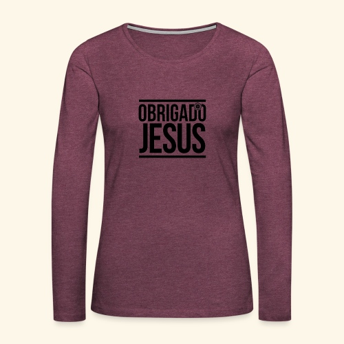 Multi-Lingual Christian Gifts - Women's Premium Longsleeve Shirt