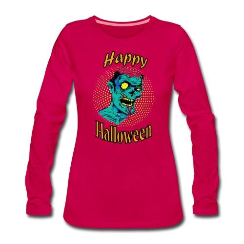 T-shirt et Sweat zombie - T-shirt manches longues Premium Femme
