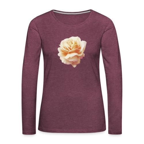 Flower - T-shirt manches longues Premium Femme