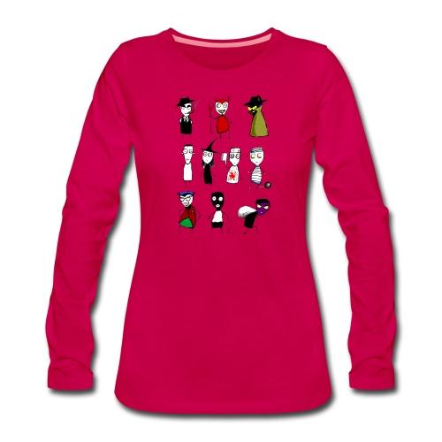 Bad to the bone - Women's Premium Longsleeve Shirt