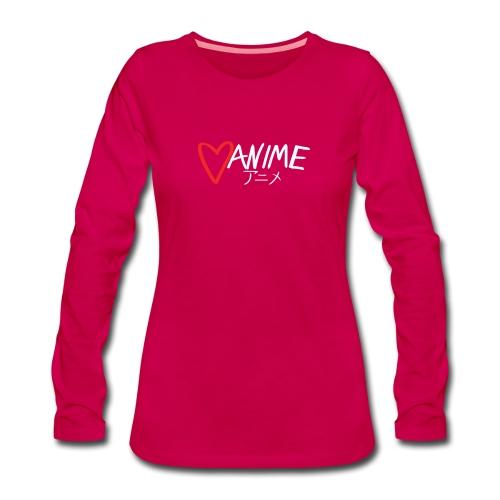 Heart Anime 2 - Women's Premium Longsleeve Shirt