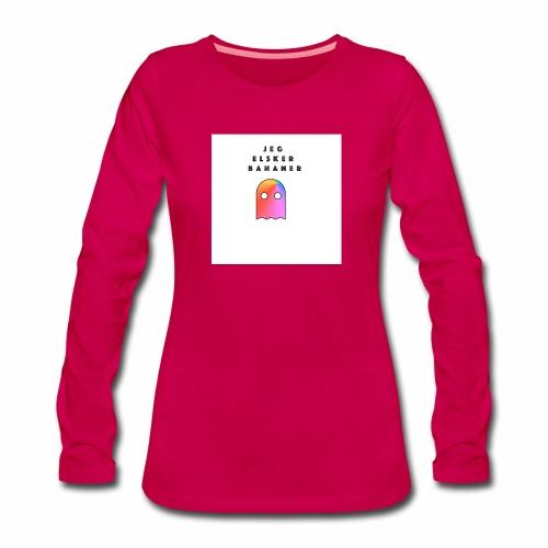 Jeg elsker - Premium langermet T-skjorte for kvinner