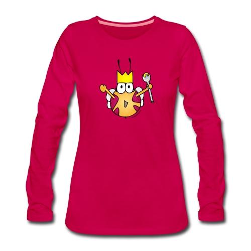 Bienenkönigin - Frauen Premium Langarmshirt