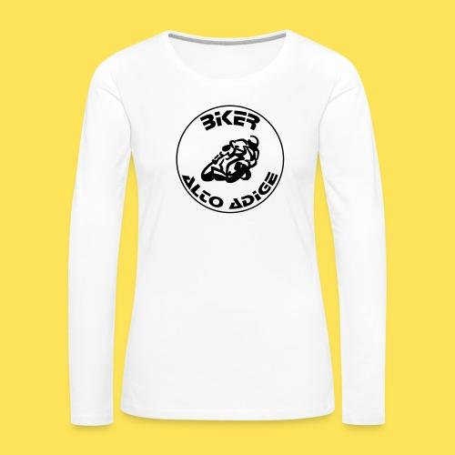 BikerAltoAdige Circle - Maglietta Premium a manica lunga da donna