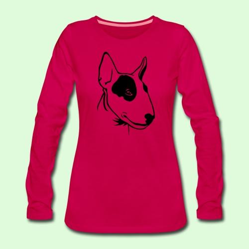Bull Terrier - T-shirt manches longues Premium Femme