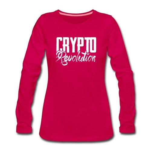 Crypto Revolution - Women's Premium Longsleeve Shirt