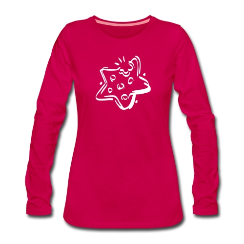 zimtstern - Frauen Premium Langarmshirt