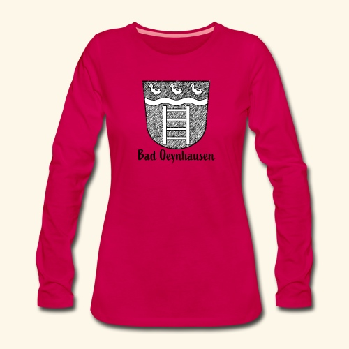 B.O. and the ducks - Frauen Premium Langarmshirt