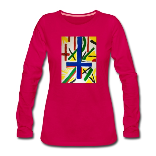 Broberg - Långärmad premium-T-shirt dam