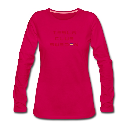 TCS color - Långärmad premium-T-shirt dam