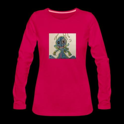 WHY BY TAiTO - Naisten premium pitkähihainen t-paita