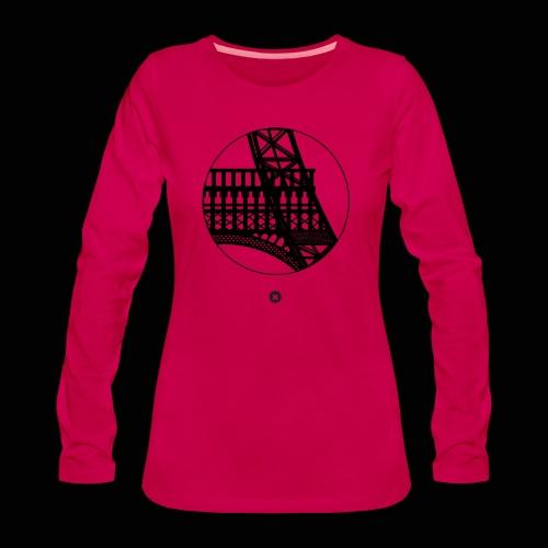 La Tour de Fer - T-shirt manches longues Premium Femme