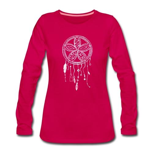 dreamcatcher-02 - T-shirt manches longues Premium Femme