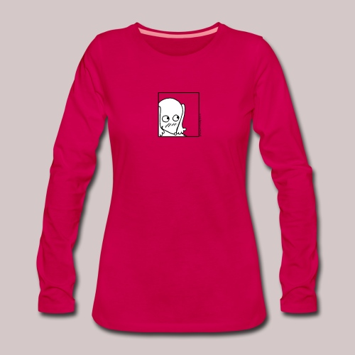 Timida - Maglietta Premium a manica lunga da donna