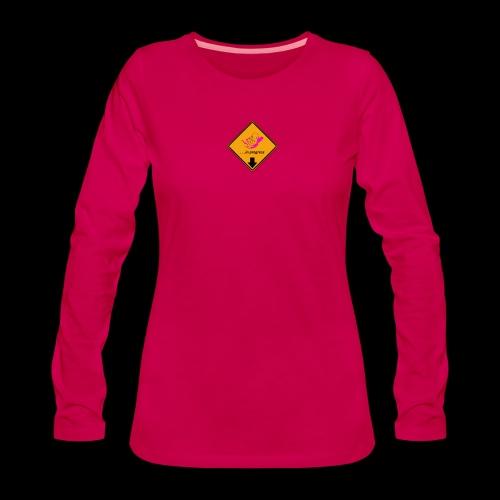 BABY IN PROGRESS - Frauen Premium Langarmshirt