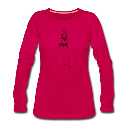 Alessia - Maglietta Premium a manica lunga da donna